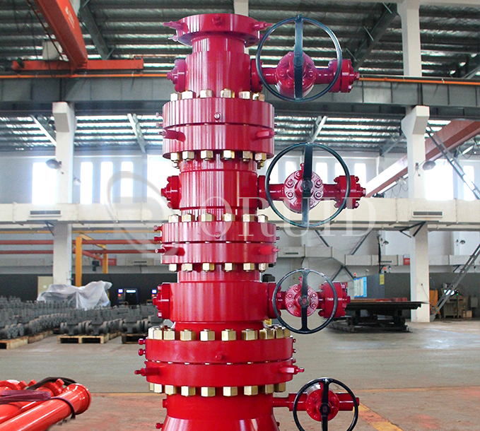 Wellhead Christmas Tree Diagram: WELLHEAD & CHRISTMAS TREE_JIANGSU ORUID PETROLEUM